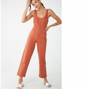 Rust Jumpsuit Forever 21